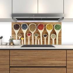 Schienale da cucina in vetro modelli predefiniti