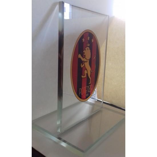 Targhe premio o commemorative in vetro personalizzate